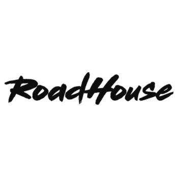 ROADHOUSE - Premium 3/4 Sleeve Baseball T-shirt - White/Black Design