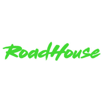 ROADHOUSE - Premium Short Sleeve T-Shirt - White w/ Green Print Design
