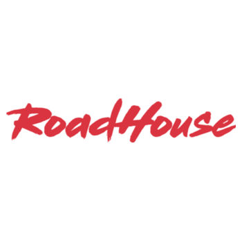 ROADHOUSE - Premium Short Sleeve T-Shirt - White w/ Red Print Design