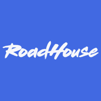 ROADHOUSE - Premium Short Sleeve T-Shirt - Royal w/ White Print Design