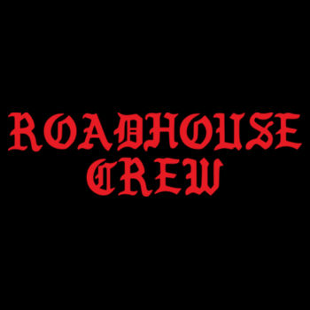 ROADHOUSE CREW - Premium Unisex Pullover Hoodie - Black Design
