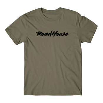 ROADHOUSE - Premium Short Sleeve T-Shirt - Military Green Thumbnail