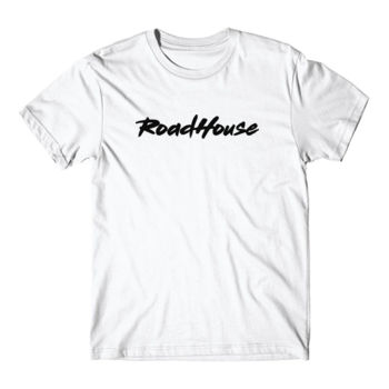 ROADHOUSE - Premium Short Sleeve T-Shirt - White Thumbnail