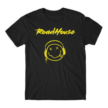 SMILEY - Premium Short Sleeve T-Shirt - Black Thumbnail