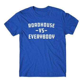 ROADHOUSE VS EVERYBODY - Premium Short Sleeve T-Shirt - Royal Blue Thumbnail