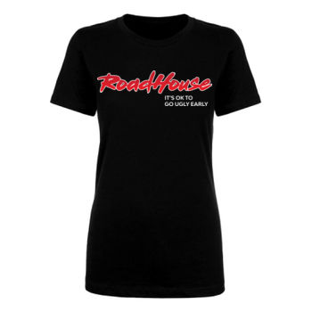 UGLY EARLY - Premium Women's Short Sleeve T-Shirt - Black Thumbnail