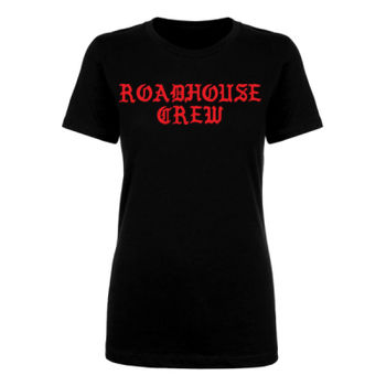 ROADHOUSE CREW - Premium Women's Short Sleeve T-shirt - Black Thumbnail